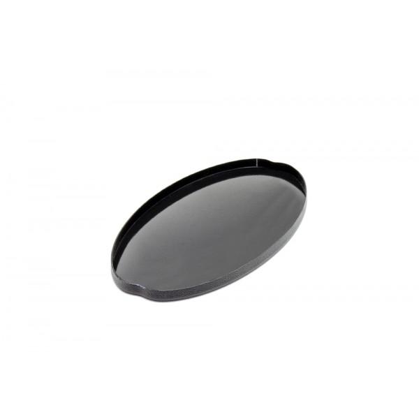 Kruzer Alt Kapak Arama Başlığı Kapali (24Cm X 13Cm) Siyah
